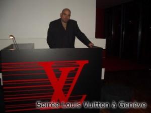Soirée Louis Vuitton à Genève