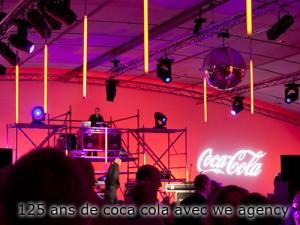 125 ans de COCA COLA avec Agency