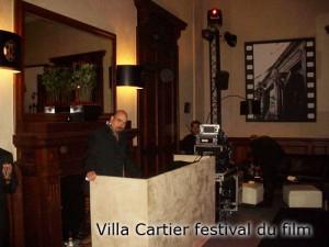 Villa Cartier festival du film